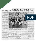 1952-53 University of Kentucky Wildcat Marching Band
