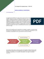 Identificación y Análisis de Riesgos en Las Organizaciones