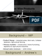 Insteel Wire Products