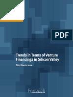 3Q14 Silicon Valley Venture Capital Survey