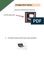 Tips Menggunakan Laptop