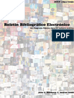 Boletín Bibliográfico Electrónico Nro1 Buenos Aires Historia Políítica