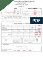 Cuestionario Fesal 1998 Frecuencias