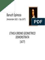 Baruch Spinoza ETICA