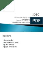 JDBC e Hibernate