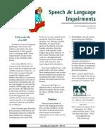 slp impairments