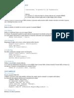 SQL Comandi Principali