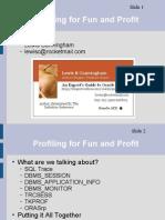 Code Profiling in Oracle