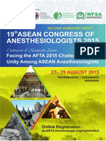 2nd Announcement ACA2015