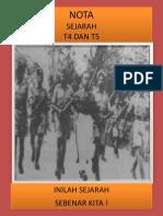 Nota Lengkap Sejarah t4 Da t5