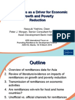 Remittances as a Driver for Economic Growth and Poverty Reduction