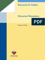 Educación Adultos - Matemáticas Tercer Nivel