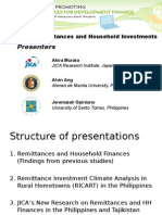 Remittances and Household Investments