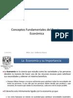 Conceptos Fundamentales Del Teoría Económica