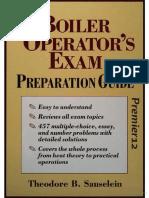 0070579687 Boiler Operator's Exam Preparation Guide
