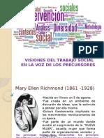 Visiones Del Trabajo Social Fundamentos Del Ts. Primer Ppt.
