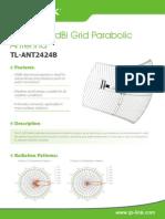 TL-ANT2424B V1 Datasheet