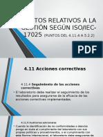 Requisitos Relativos a La Gestión Según Iso-17025 (