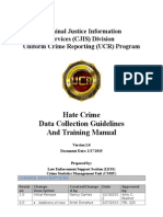 2015 Hate Crime Data Collection Guidelines and Training Manual_Final CJIS Revisions
