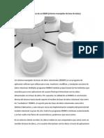 Características de Un DBMS