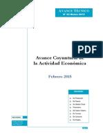 actividad economica 2015
