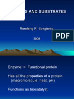 Enzymes and Substrates