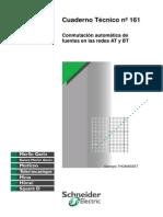 Conmutación Automática de Fuentes en Las Redes at y BT