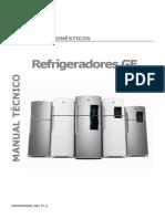 Manual Serviço Refrigerador GE Reparado