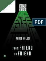 Fromfriendtofriend Ahmed Halusi