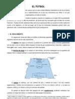 Apuntes fútbol 1º bachillerato