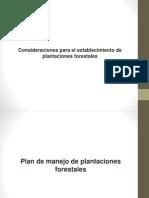 9. Manejo de Plantaciones Forestales