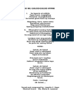 Himno Ng Gulod
