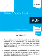 U02 Windows 7 Panel de Control 2014-2