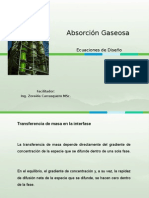 Absorción_Ecuaciones de Diseño