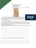 Guia de Lectura El Alquimista