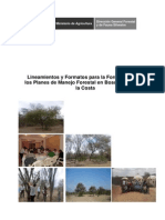 RM 0166-2012-AG TDR Formulación PMF Bosques Secos de La Costa