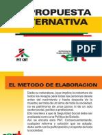 El dialogo y  Propuesta Alternativa definitivo
