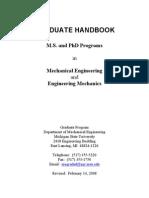 Grad Handbook 14FEB08