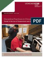 Discipline Report