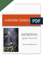La Electricidad - Conceptos Generales (Parte 1)