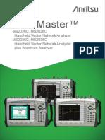 Anritsu MS2028C Commercial Manual