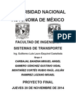 Proyecto Final Transportes