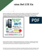 <h1>La Progresion Del LTE En Espana</h1>