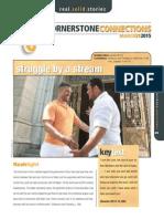 1st Quarter 2015 Lesson 12 Cornerstone Connections