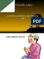 CONTOH-CONTOH ILMU