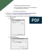 Dual Java Install