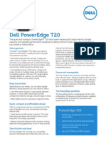 Dell PowerEdge T20 Mini Tower Server Spec Sheet