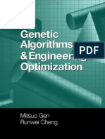 Genetic Algorithms and Engineering Optimization