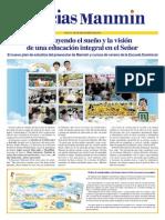 Noticias Manmin - Periódico Evangélico Cristiano multi-idima. N° Sp 173