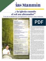 Noticias Manmin - Periódico Evangélico Cristiano multi-idima. N° Sp 171